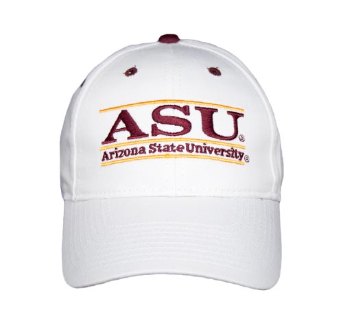 cef379e923a35 Arizona State Snapback College Bar Hats by The Game