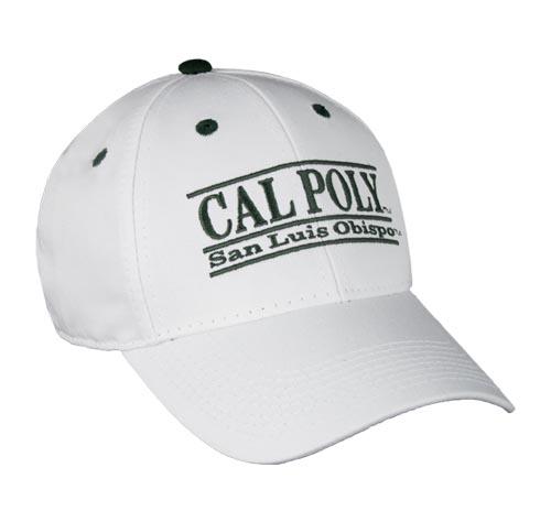 79ebd976170a6 California Polytechnic State University Bar Hat Snapback College Bar ...
