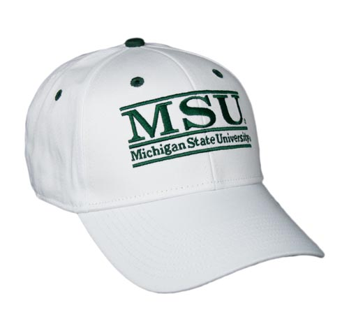 Michigan State Snapback College Bar Hats by The Game 802a3f940db