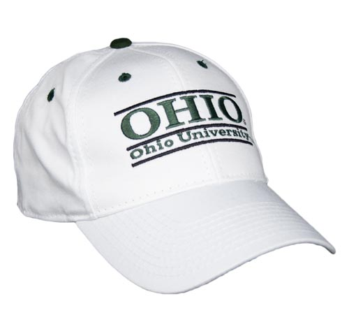 Ohio University Snapback College Bar Hats by The Game 84275bee0ab