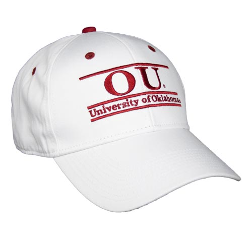 Oklahoma Snapback College Bar Hats by The Game ec970154312
