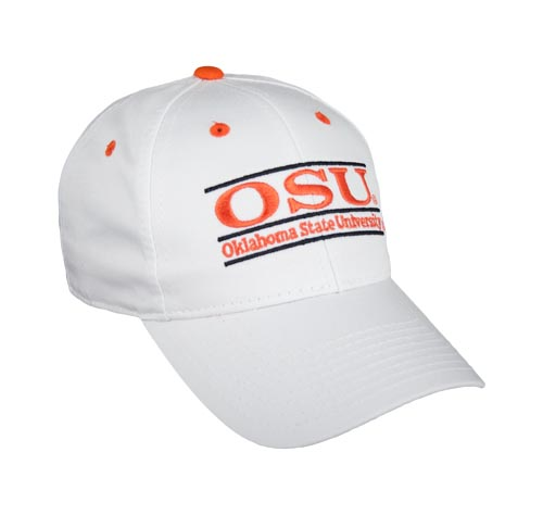 1b8177f2601 Oklahoma State Snapback College Bar Hats by The Game