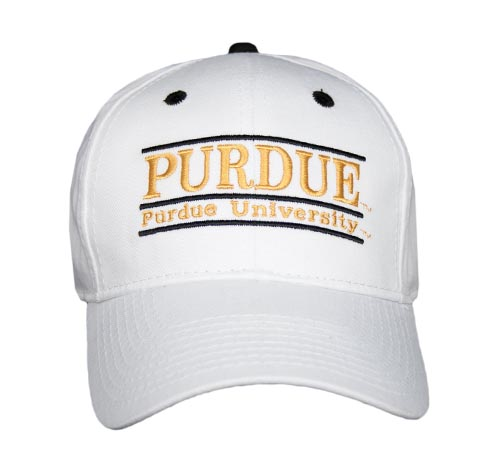 Purdue Snapback College Bar Hats by The Game d595e53bffe