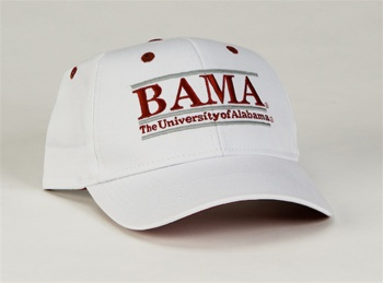 Alabama Snapback College Nickname Bar Hats by The Game 2b552852d9d