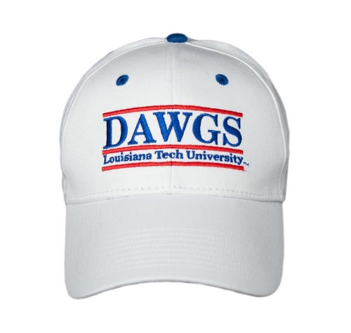 Louisiana Tech Snapback College Nickname Bar Hats by The Game d03b11277f6c
