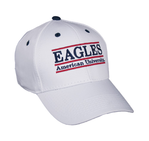 American University EAGLES Snapback College Nickname Bar Hats by The ... e414d6ee206