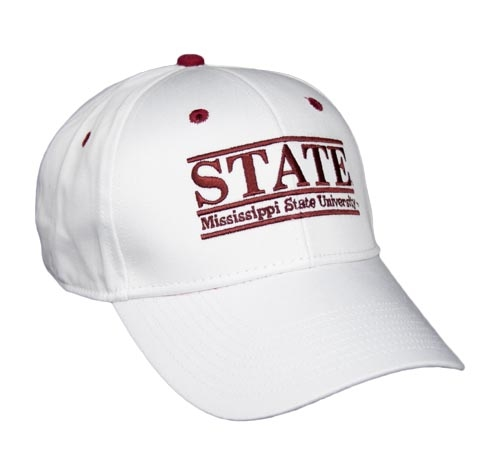 e4d0553fdc581 Mississippi State Snapback College Nickname Bar Hats by The Game