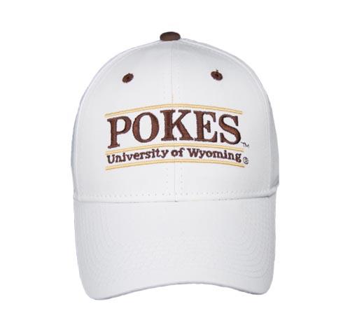 Wyoming POKES Nickname Bar Hat