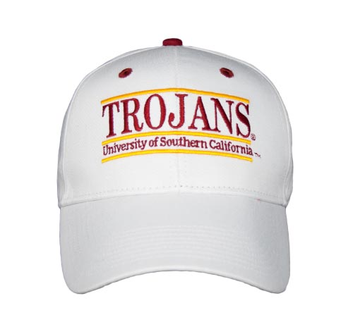 7fc405cd58186 USC Snapback College Nickname Bar Hats by The Game