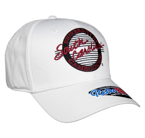 c85ee207f0f6f South Carolina Large Retro Snapback College Circle Hats by The Game