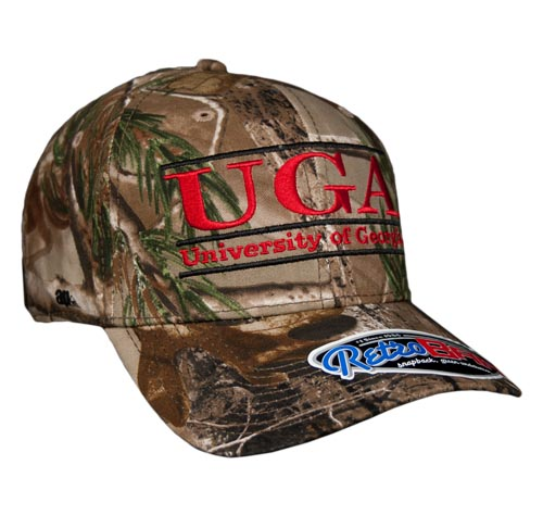 Georgia Large Retro Camo Snapback College Bar Hats by The Game 18dca9219aa