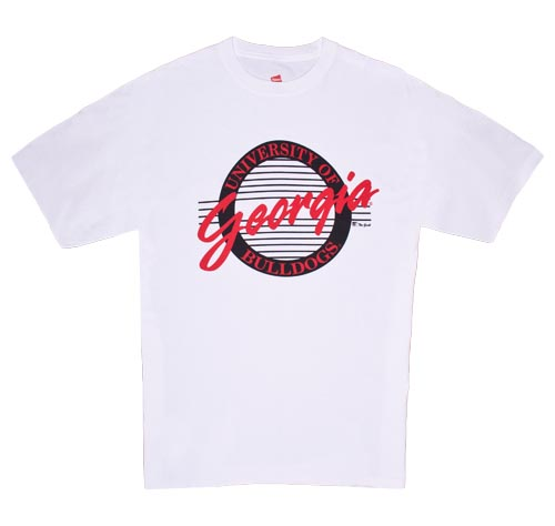 a0a09317742 Georgia Circle Design T-Shirts by The Game