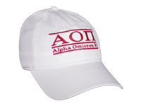 Alpha Omicron Pi Sorority Bar Hat