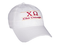 Chi Omega Sorority Bar Hat