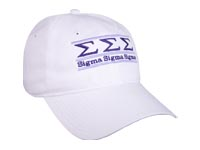 Sigma Sigma Sigma Sorority Bar Hat