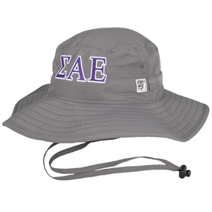 Sigma Alpha Epsilon Ultra Light Charcoal Boonie