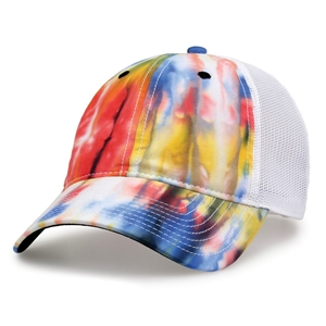 GB470 - Tie Dye Soft Trucker