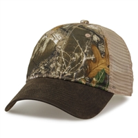 GB872 - Camo Trucker- Rugged Blend Bill