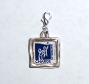 CHARGE Foundation logo charm