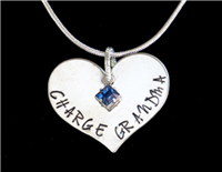 Heart CHARGE Grandma - Blue