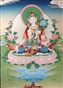 White Tara Meditation Card