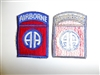 b0483 WW 2 US Army 82nd Airborne Infantry Division red variation PIR R3A