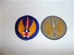 0404 WW 2 US Army Air Forces in Europe Patch Force USAAF R13B
