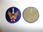 1803 WW 2 US Army 1st Air Force Patch USAAF R13A