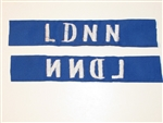b8459 RVN South Vietnam Navy Frogman Name Tape LDNN Lien Doi Nguoi Nhai IR9A