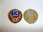 1815 WW 2 US Army 13th Air Force Patch USAAF AAF R13A