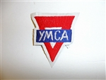 b1349 WW1 Canadian Y.M.C.A War services patch YMCA R22A