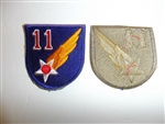 1813 WW 2 US Army 11th Air Force Patch R13A