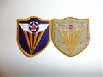 1806 WW 2 US Army 4th Air Force Patch R13A