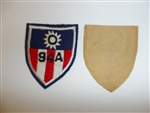 1805 WW 2 US Army 3rd Air Force Patch R13A
