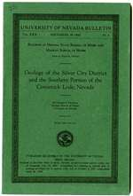 Geology of the Silver City district and the southern portion of the Comstock Lode, Nevada PHOTOCOPY