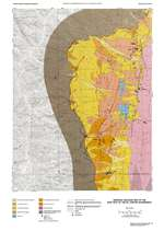 Surficial geologic map of the east half of the IXL Canyon quadrangle PLATE 1 FROM BULLETIN 102