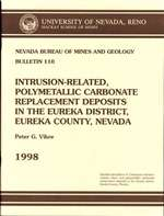 Intrusion-related, polymetallic carbonate replacement deposits in the Eureka district, Eureka County, Nevada