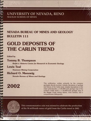 Gold deposits of the Carlin trend [SOFTGOOD]