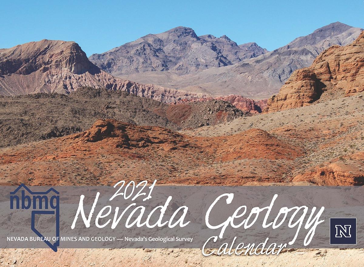 Nevada geology calendar 2021
