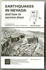 Earthquakes in Nevada and how to survive them (seventh edition) BROCHURE--SEE EDUCATIONAL SERIES 27 FOR SPANISH VERSION