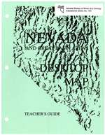 Nevada and Great Basin areas desktop map: Teacher's guide
