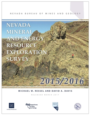 Nevada mineral and energy resource exploration survey 2015 2016 - Geological survey and mines bureau ...
