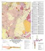 Geologic map of the Bell Mountain quadrangle, western Nevada COLOR MAP, TEXT NOT INCLUDED