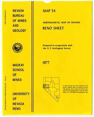 Aeromagnetic map of Nevada: Reno sheet