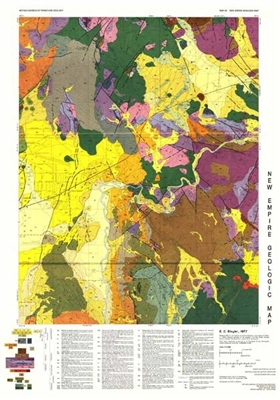 Geologic map of the New Empire quadrangle
