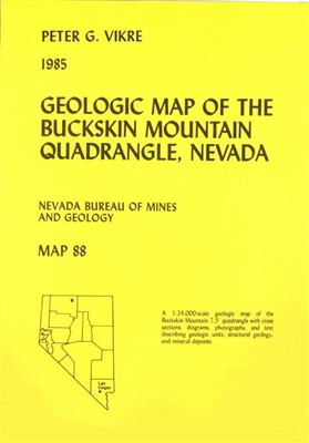 Geologic map of the Buckskin Mountain quadrangle, Nevada