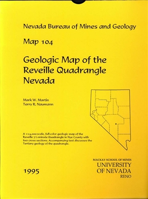 Geologic map of the Reveille quadrangle, Nevada MAP AND TEXT