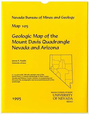 Geologic map of the Mount Davis quadrangle, Nevada and Arizona MAP AND TEXT