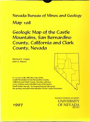 Geologic map of the Castle Mountains, San Bernardino County, California and Clark County, Nevada MAP AND TEXT