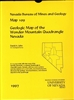 Geologic map of the Wonder Mountain quadrangle, Nevada MAP AND TEXT